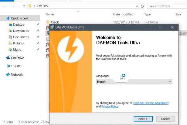 Cómo descargar e instalar Daemon Tools Ultra